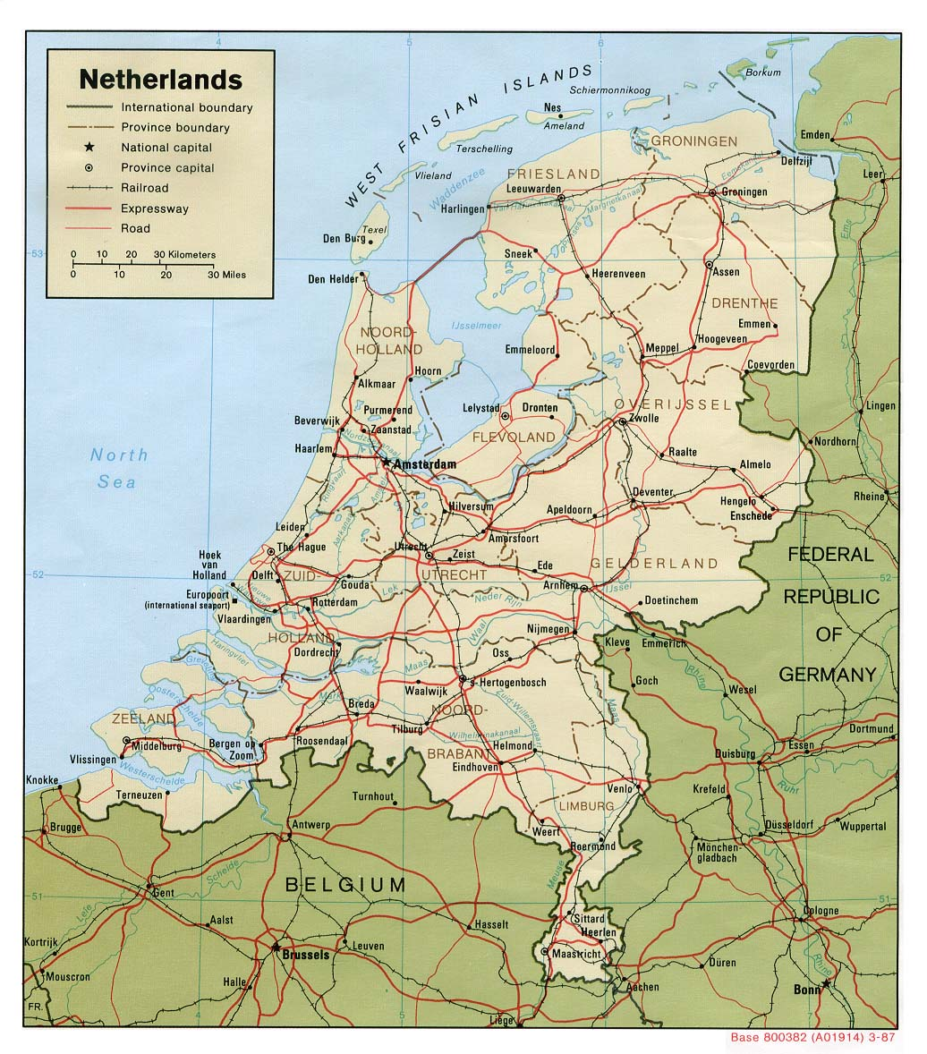 جغرافيا هولندا المعرفة