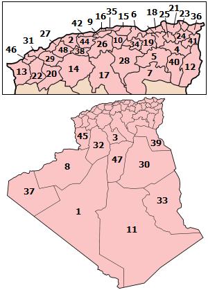 ����� ����� ������� ����� �������� ��������� �������� �������� ���� Algeria_wilayas.png