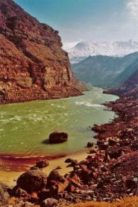 النهر الأصفر او هوانغ هي  Yellow_river_-_A._Holdrinet