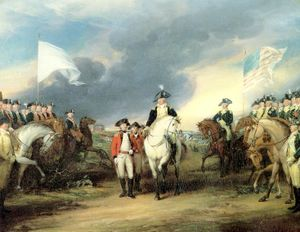 The siege of Yorktown ended with the surrender of a second British army, paving the way for the end of the American Revolutionary War