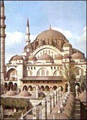 مسجد السليمانية بإستانبول