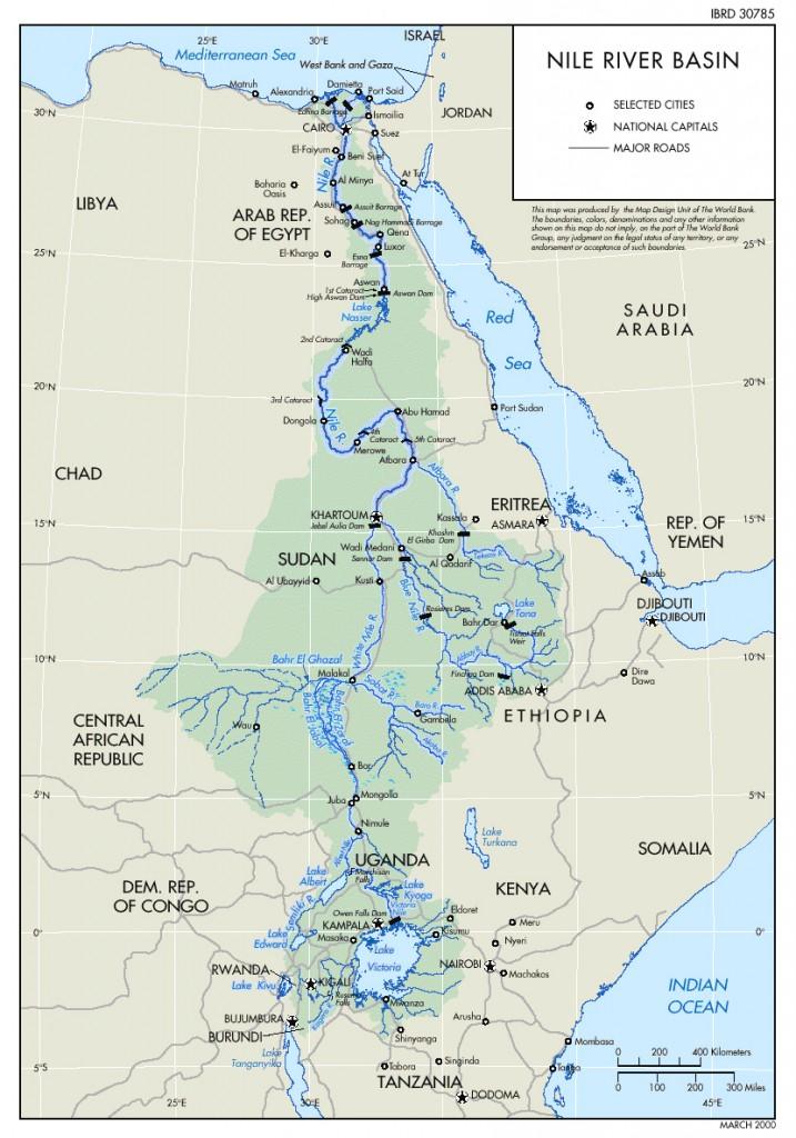حوض النيل المعرفة