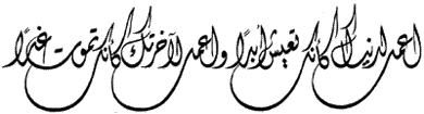 انواع الخطوط العربية بالصور Diwani