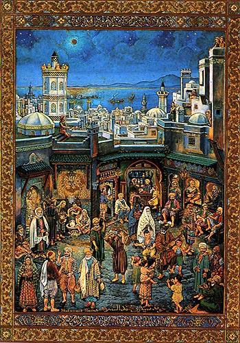 محمد راسم، فنان المنمنمات الجزائري.