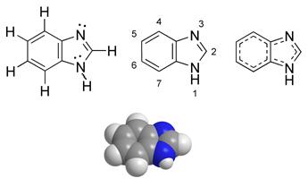 البناء الكيميائي للبنزيميدازول