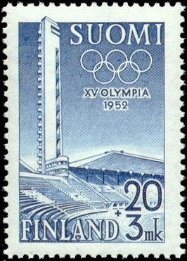 1952 Summer Olympic Games stamp