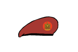 Borderguard brigadier Beret - Egyptian Army.png