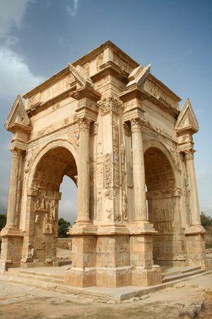 300px-Leptis_Magna_Arch_of_Septimus_Severus