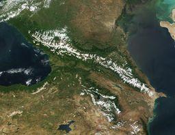 البحر الأسود و بحر قزوين في منطقة