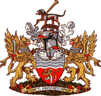 Coat of arms of Hounslow London Borough Council