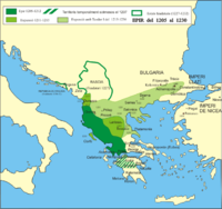 The Despotate of Epirus in the Middle Ages.