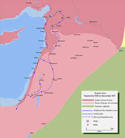 خريطة تفصيلية لمسار جيش خالد بن الوليد لفتح شمال سوريا