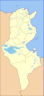 جبل الشعانبي is located in Tunisia
