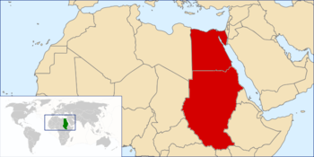 Location of مصر
