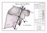 خريطة مركز العدوة، المنيا.