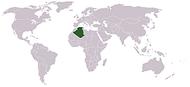 موقع الجزائر