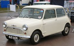 621 AOK the very first production Morris Mini-Minor—built 1959