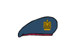 Moral Afaires Beret - Egyptian Army.png