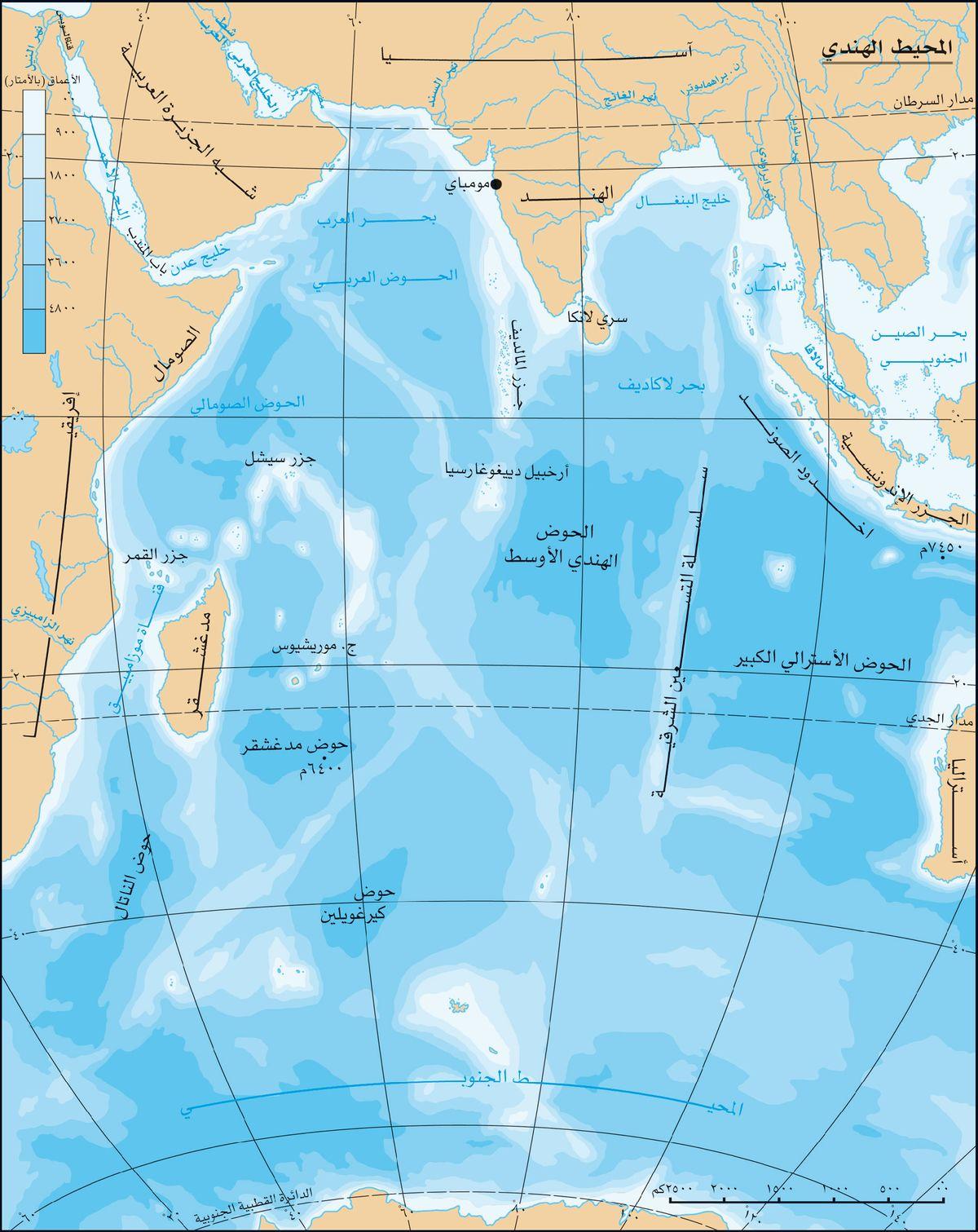 المحيط الهندي المعرفة