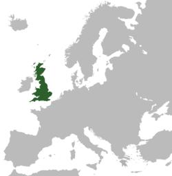 موقع بريطانيا العظمى
