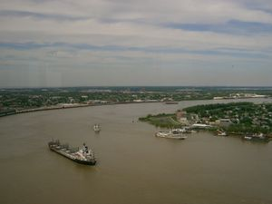 Mississipi River - New Orleans.JPG
