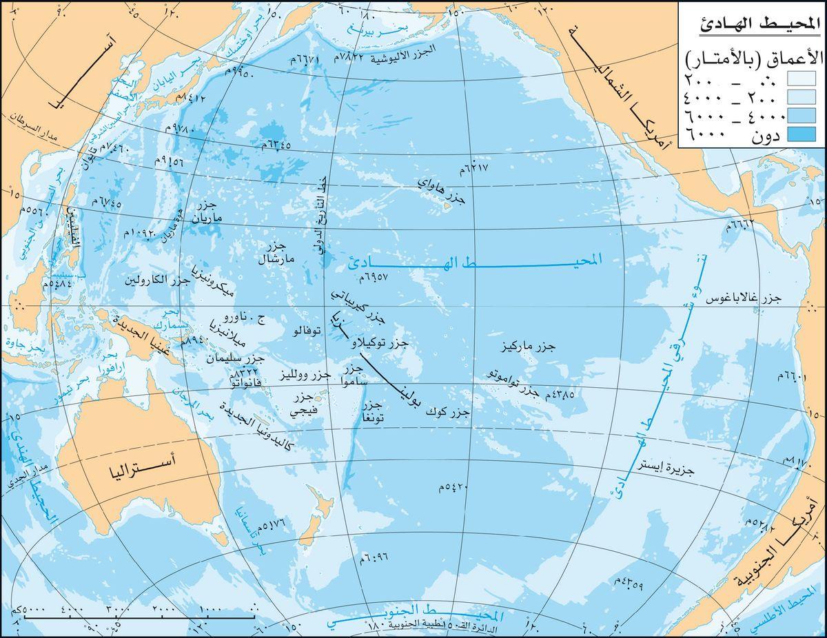 المحيط الهادي المعرفة
