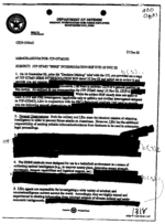 Example of redaction on (a copy of) a document