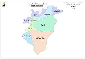 خريطة وجدة بالتفصيل