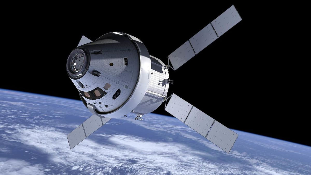 مهام ناسا القادمة، مركبة أوريون الفضائية