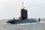 HMCS Windsor, a Victoria-class diesel-electric hunter-killer submarine