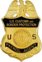 US Border Patrol agent badge.png