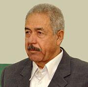 علي حسن المجيد خلال جلسة التحقيق في 2004