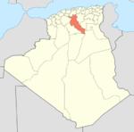 Algeria 17 Wilaya locator map-2009.png