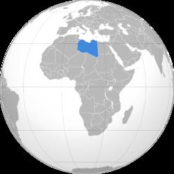 موقع ليبيا