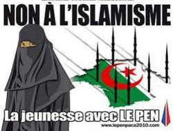 الجالية الجزائرية في فرنسا ملف 250px-Non_a_L'Islamisme.jpg