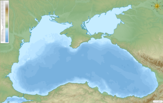 Map of the Black Sea with bathymetry and surrounding relief.png