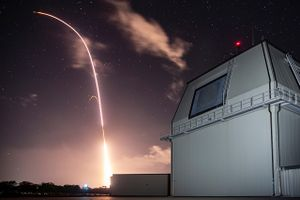 SM 3 Block IIA launched from the Aegis Ashore Missile Defense Test Complex at Hawaii.jpg