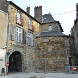 "Porte Neuve (""New Gate"") in the old town"