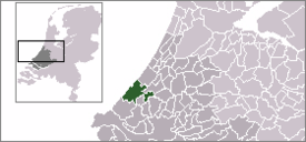 Location of لاهاي The Hague