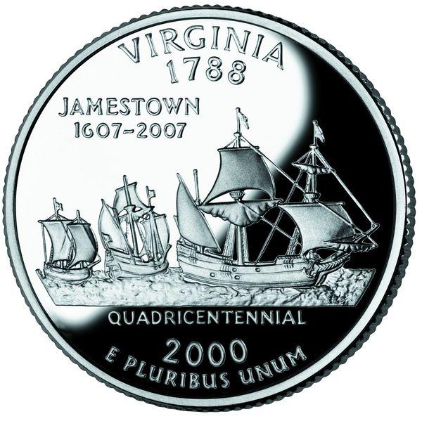 ملف:Virginia quarter, reverse side, 2000.jpg - المعرفة