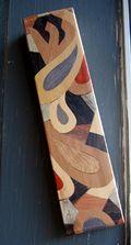 Wood intarsia