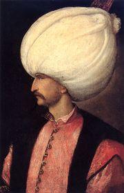 سليمان الأول، منسوبة إلى مدرسة تيتيان ح.1530