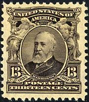 A postage stamp