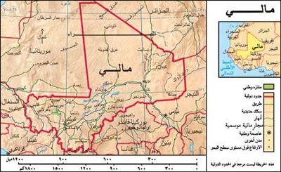 مؤتمر للسلام بمالي يدعو للتفاوض 400px-Mali_Map_Ar.jpg