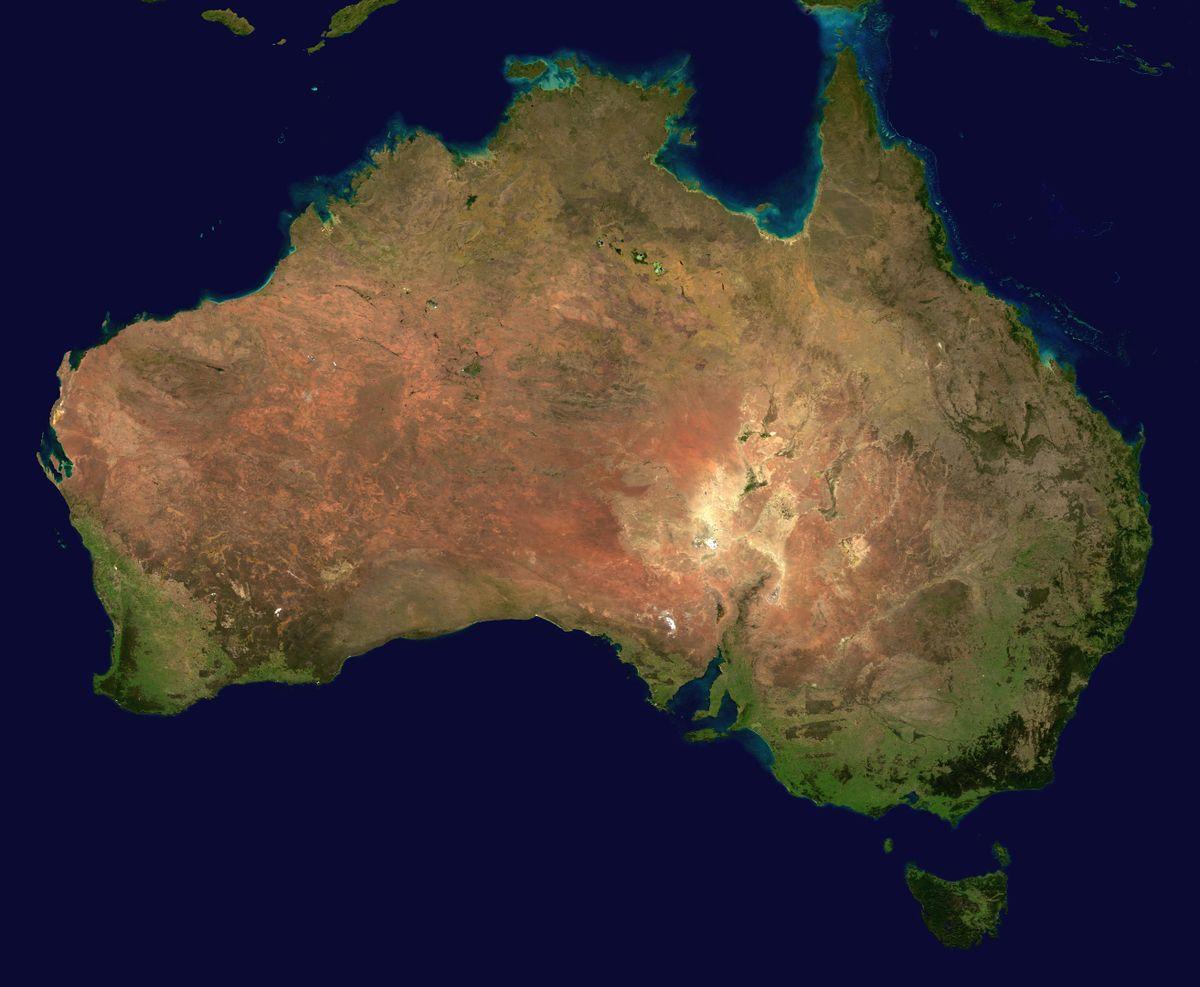 جغرافيا أستراليا المعرفة