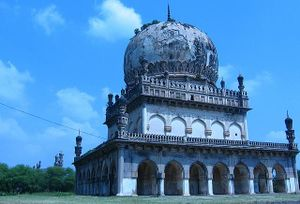 The tomb of the former rulers of Hyderabad