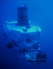 DSV Alvin in 1978, a year after first exploring hydrothermal vents.
