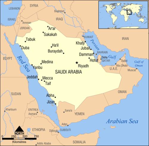 خرائط حديثة وتفصيلية تغطي جميع مناطق المملكة العربية السعودية